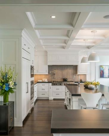 While They Preferred A Clean, Functional And Modern Design, They Also  Gravitated Towards The Warmth Of New England Architecture. This Kitchen  Blends All ...