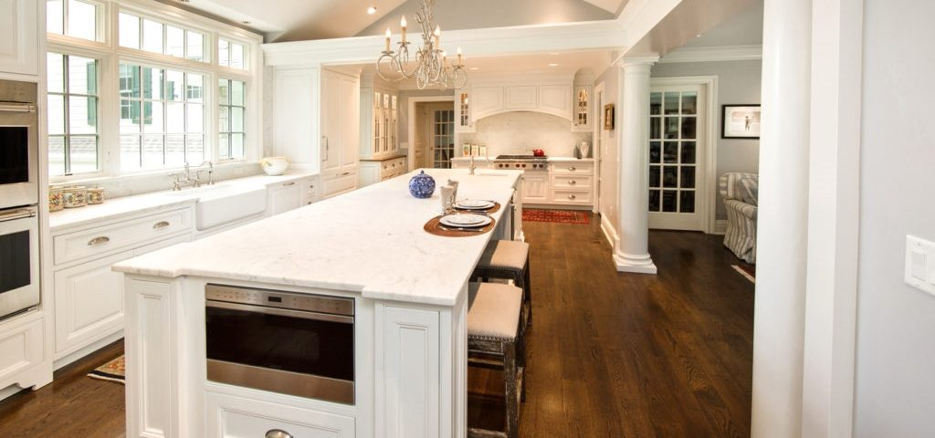 Kitchen Design Ditching Upper Cabinets Do You Dare Seven Tide Boston Showroom